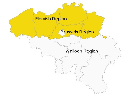 SEO in Belgium - regions