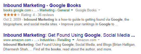 structured data for rich snippets