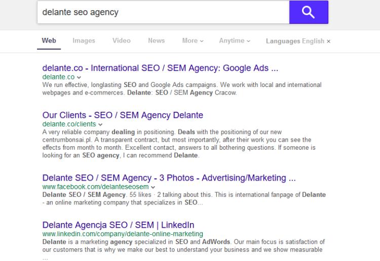 Alternatives for Google Yahoo