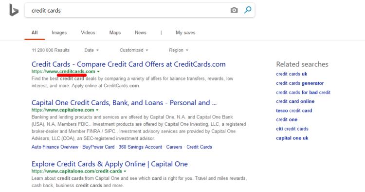 Alternatives for Google SEO Bing