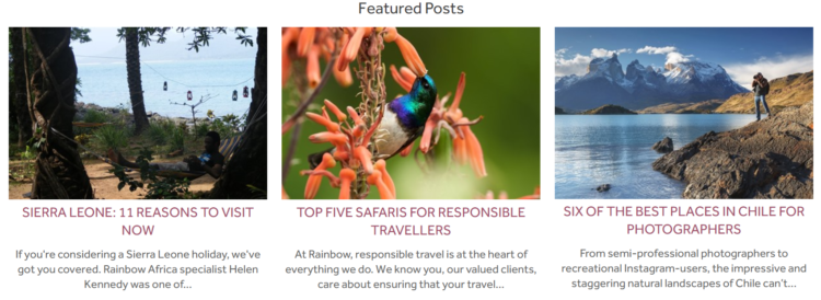Blog tourism