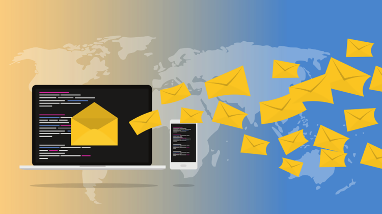 run email campaigns to increase landing page traffic