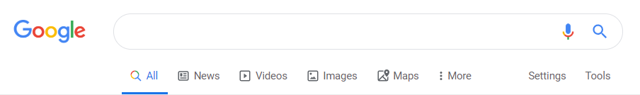 Images and file search in Google