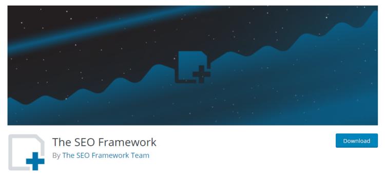 wordpress plugins the seo framework