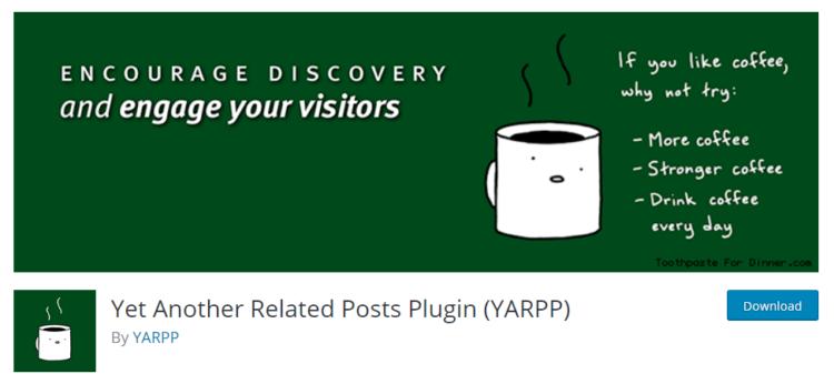 Yarpp wordpress plugin
