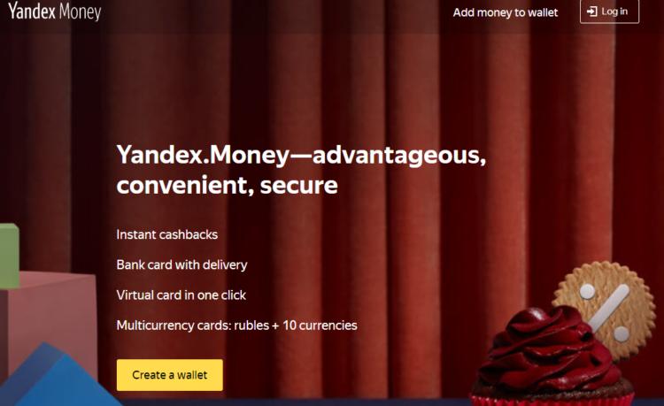 Yandex money - seo in russia