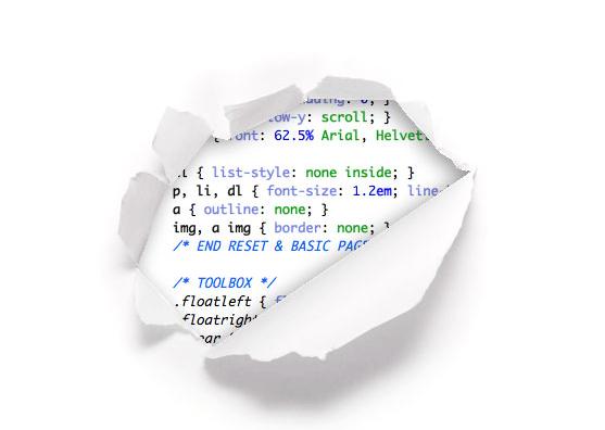 Example of 404 error message