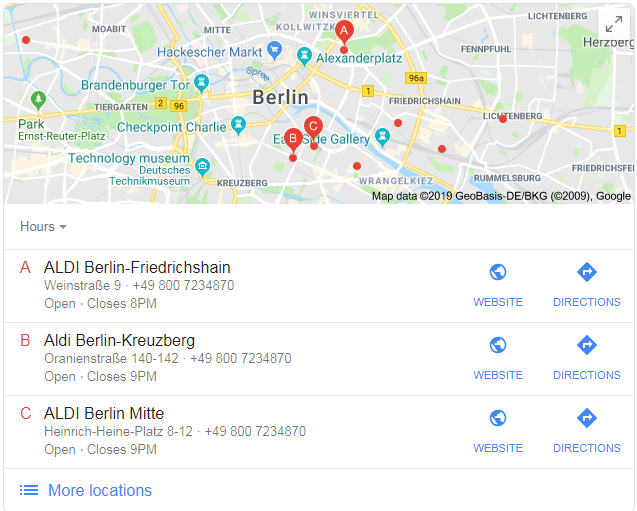 Google Maps Berlin