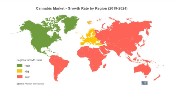 Cannabis market in the world