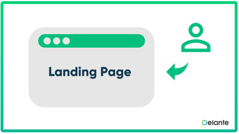 landing page - definition