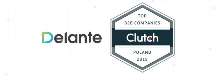 Delante Awarded Top SEO Company in Poland!