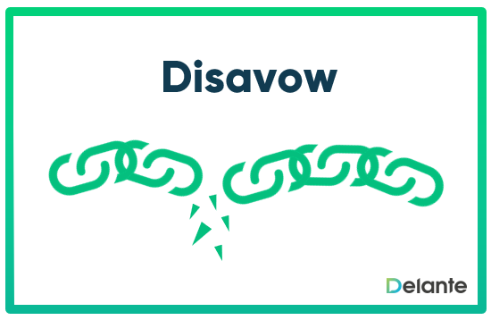 Disavow defiition