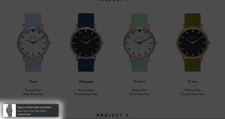 Social proof - project2