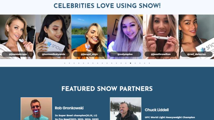 Social proof celebrities