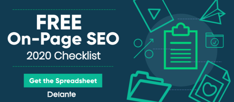 Free On-Page SEO 2020 Checklist