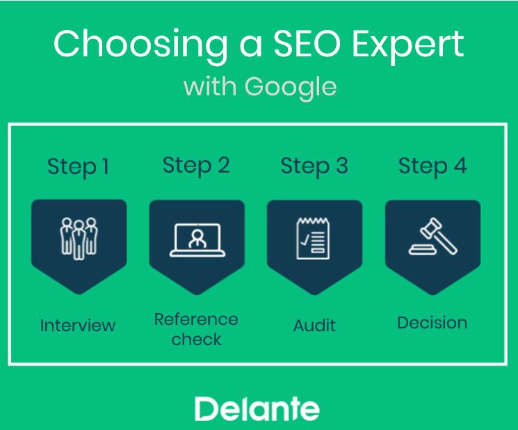Choosing SEO Expert - Google Advice