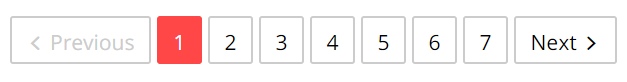 Pagination - navigation bars