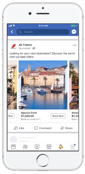 Facebook Ads Specification - Carousel