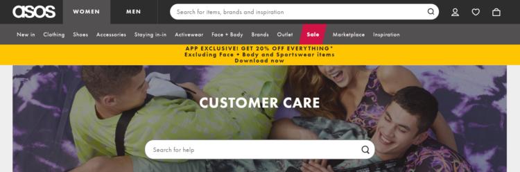 Customer Service for e-commerce