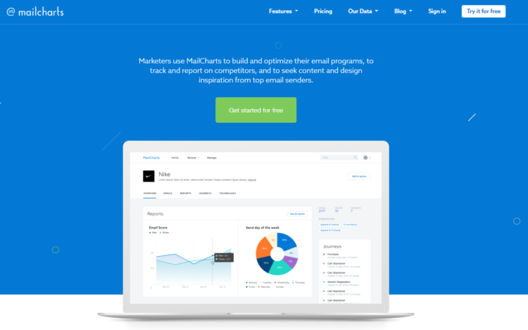 Competitor Analysis tools - Mailcharts