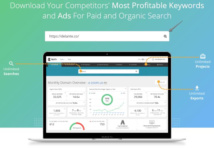 Competitor Analysis tools - SpyFu