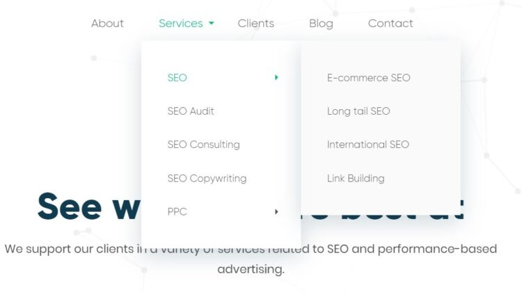 UX and SEO - website navigation