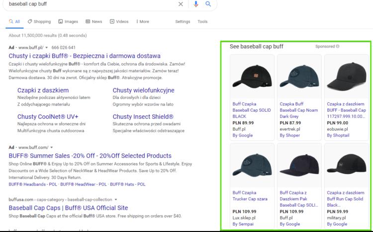 PLA search results
