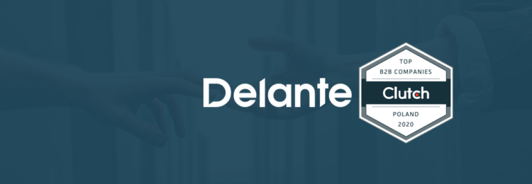 Delante Featured Among The Best B2B Comapnies in Poland by Clutch