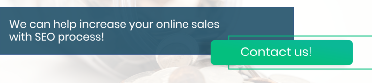 Increase online sales with SEO process