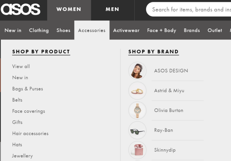 navigation - how to boost conversion of an online store
