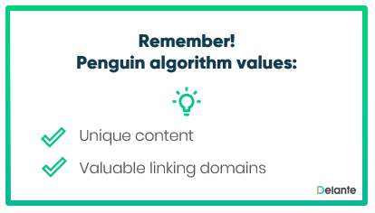 What is important for Penguing Algorithm