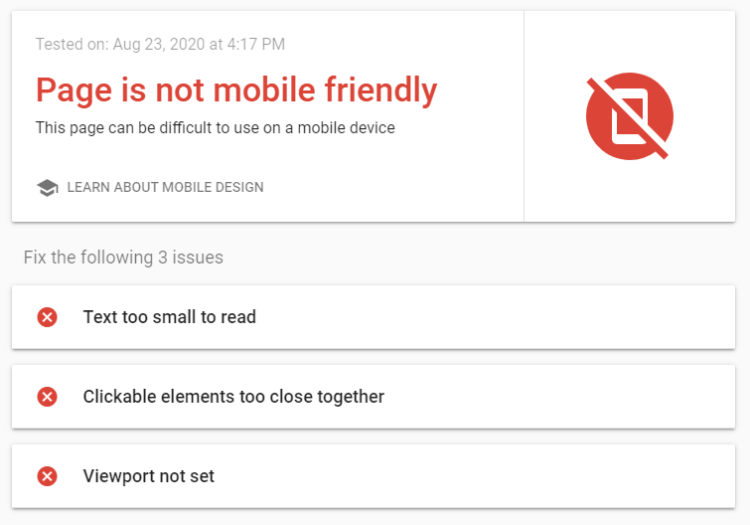 Mobile-friendliness -ux and seo