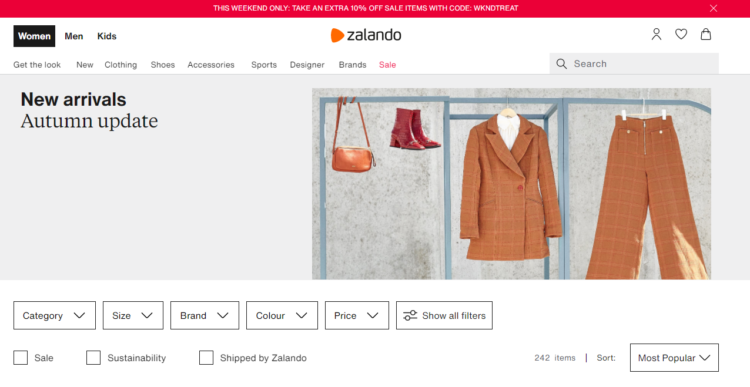 Zalando - the example of well handled and safe delivery