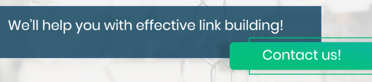 effective link building with strong links