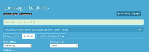 Screenshot of Link Centaur tool