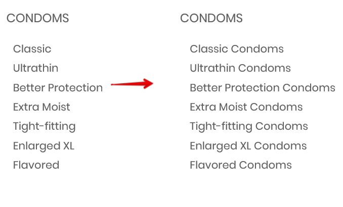 How to optimize erotic industry keywords - example