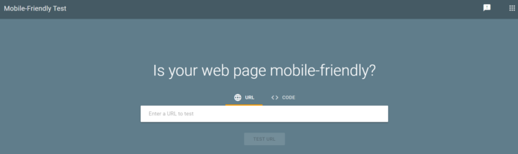 pagespeed insight mobile-friendly test