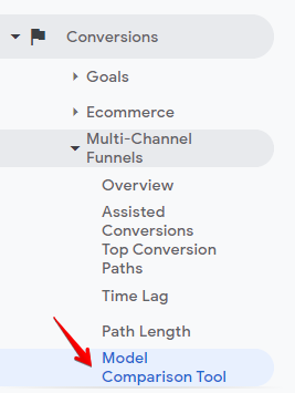 model comparison tool in google analytics - guide