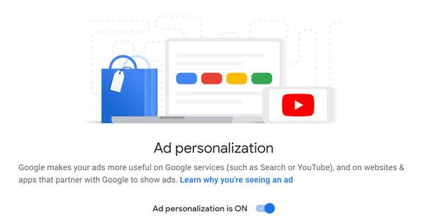 google analytics guide ad personalization