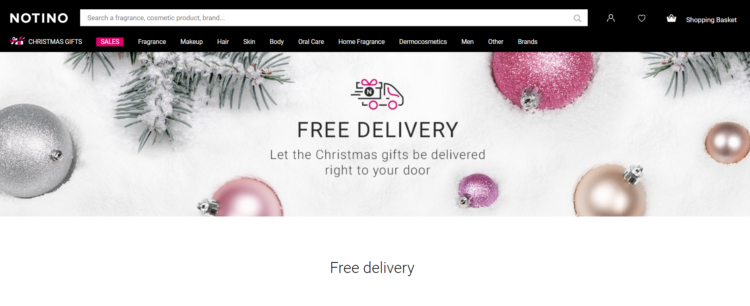 free delivery option ecommerce