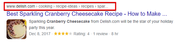 breadcrumbs and technical seo