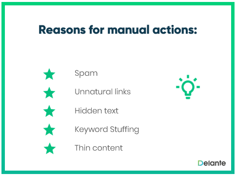 Manual action definition