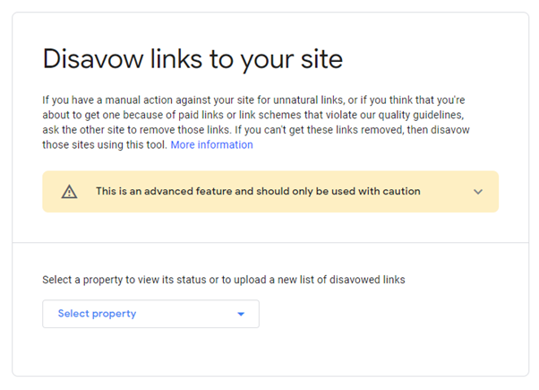 How to disavow links?