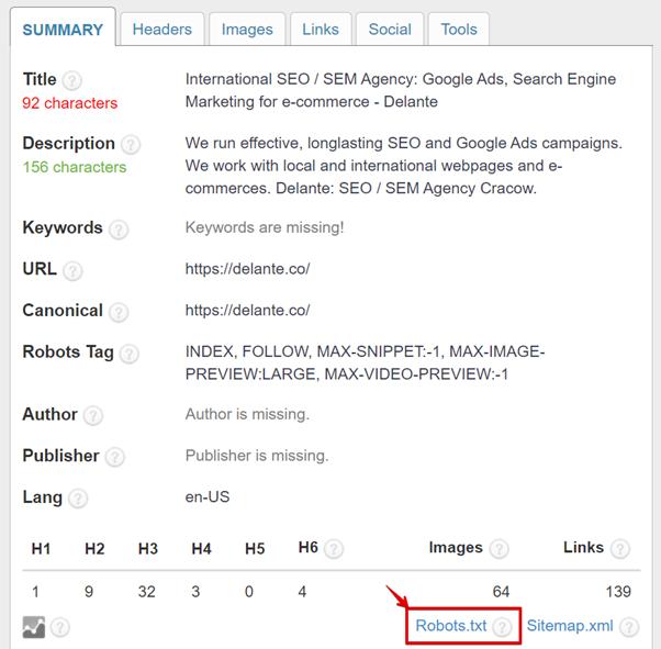 seo tools seo audit checklist