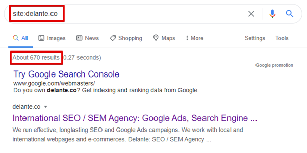 indexed pages seo audit essentials