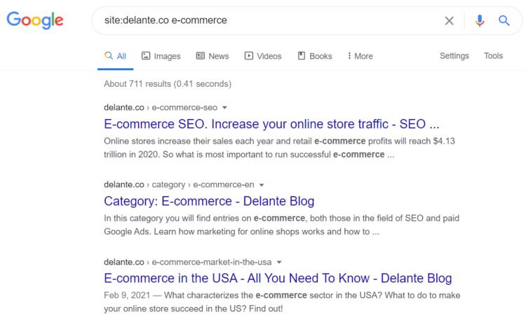 site search google formula
