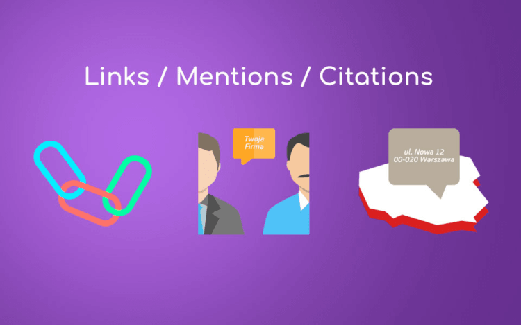 links mentions citations in obtaining stron links for the website