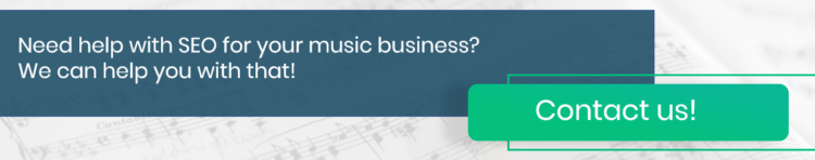 music industry SEO experts