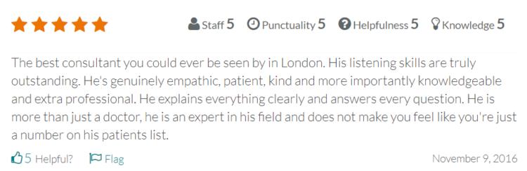doctor review website