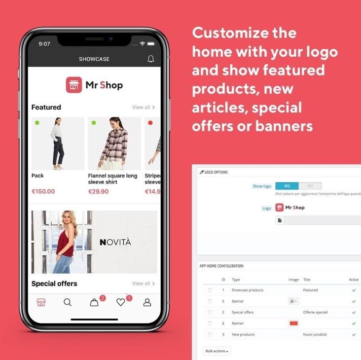 E-commerce apps for PrestaShop